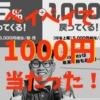 paypay 1000円相当