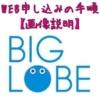 BIGLOBEモバイル WEBでお申し込みの手順【画像説明】